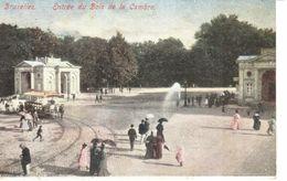 Bruxelles - CPA - Entrée Du Bois De La Cambre - Bossen, Parken, Tuinen