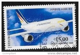POSTE AERIENNE N° 63  -  1999  - OBLITERE  -  AIRBUS A 300 B 4 - Poste Aérienne
