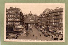 PARIS  GARE DU NORD  BD DENAIN - Other Monuments