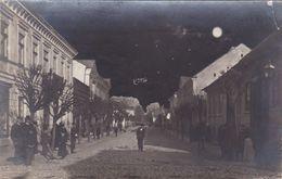 Alte Ansichtskarte Aus Lipno  (Russisch-Polen) -Straße Mit Personen - Polen