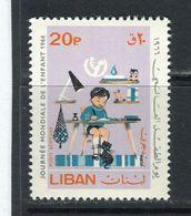LIBAN - Y&T Poste Aérienne N° 389** - Journée Mondiale De L'enfant - Lebanon