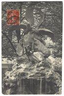 75 PARIS Auguste Cain, AIGLE ET VAUTOUR SE DISPUTANT UN OURS MORT - Statues