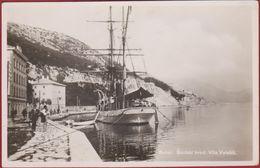 Kroatie Croatia Hrvatska BAKAR SKOLSKI BRODVILA VELEBITA SHOOL SHIP Photo Card Postcard Sailing Ship Sailship - Croatie