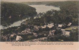 AK Sydney City Suburbs Tin Town Middle Harbour Favela Poor Houses New South Wales NSW Australia Australien Australie - Sydney