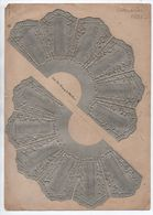 "RARE CALENDRIER ""JOURNAL DES DEMOISELLES 1881"" - Calendars"