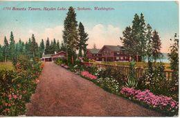 Etats Unis. Bozanta Tavern, Hayden Lake, Near Spokane, Washington - Spokane
