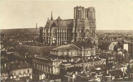 AK / CPA Reims Panorama Pris De L'Eglise St-Jacques Avant La Guerre ~1920 #02 - Reims