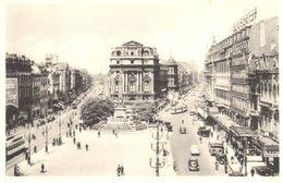 Bruxelles - CPA - Place Debrouckère - Places, Squares