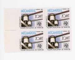Mozambique-1982-UIT-1 Valeur En Bloc De 4***MNH - Telecom
