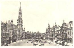 Bruxelles - CPA - Hôtel De Ville Et Grand'Place - Places, Squares