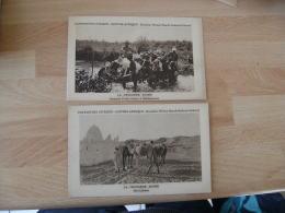 Lot De 2 Carte Afrique Croixiere Noire Citroen - Postcards