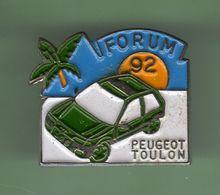 PEUGEOT *** TOULON FORUM 92 ***  A039 - Peugeot