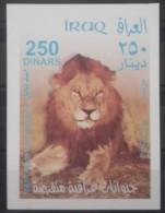 I20- Iraq 2003 Mi.Block 109 S/S Souvenir Sheet MNH - Wild Animals, Fauna, Lion - Iraq