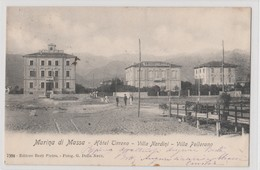 Cartolina - Marina Di Massa - Hotel Tirreno - Villa Nardini - Villa Pellerano - Massa
