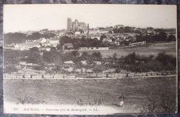 (18).BOURGES. PANORAMA PRIS DE BEAUREGARD.VERS 1910-20. - Bourges