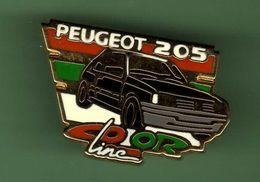 PEUGEOT *** 205 COLOR LINE *** Signe HELUIM ***  A039 - Peugeot