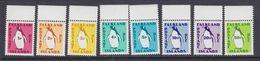 Falkland Islands 1991 Postage Due 8v (+margin)  ** Mnh (37635A) - Falklandeilanden