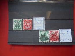 3eme Reich N°544-47 - Germany