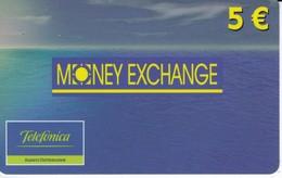 TARJETA DE ESPAÑA DE PREPAGO DE TELEFONICA DE MONEY EXCHANGE - Espagne