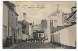 19.LIER. - Entrée Du Béguinage - Lier