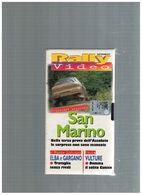 X RALLY VIDEO SAN MARINO ELBA GARGANO TRAVAGLIA VULTURE CUNICO TRICOLORE 2000 - Sports