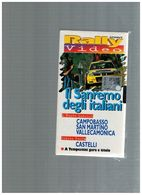 X RALLY VIDEO SANREMO CAMPOBASSO SAN MARTINO VALCAMONICA CASTELLI TEMPESTINI - Sports