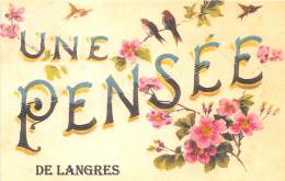 52 - HAUTE MARNE / 522475 - Fantaisie Moderne - CPM - Format 9 X 14 Cm - Langres - France
