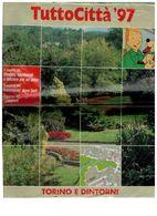 X TORINO E DINTORNI TUTTOCITTA' 1997 CONDIZIONI ACCETTABILI - Libri, Riviste, Fumetti
