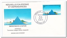 Nieuw Caledonië 1984, FDC, Nature Conservation - FDC