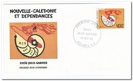 Nieuw Caledonië 1985, FDC, Jules-Garnier-gymnasium - FDC