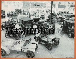 Photographie Expo Voitures Anciennes: PILAIN_De DION BOUTON_PEUGEOT_ SIZAIRE NAUDIN Etc... Pas De Date - Voitures