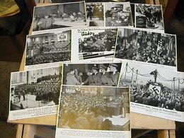 Lot De 10 Photos De Propagande Ww2 - Dokumente