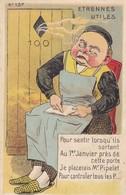 Série ETRENNES UTILES N° 137 . Carte Humoristique Sur Les Pets - Humour