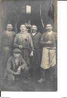 Liège - Photo Carte - Abattoir/Boucher  - Ouvriers - Circulée: 1912 De Liège En Turquie D'Asie - Voir 2 Scans - Liege