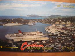 Télécarte Sainte Lucie - Saint Lucia