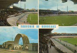 BORDEAUX.....4 VUES DU STADE - Stades