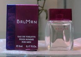 BALMAN - EDT POUR HOMME 5 ML De BALMAIN - Miniatures Hommes (avec Boite)