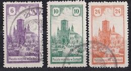 Brk_ Polen Zarki - Mi.Nr. 7 - 9 - Gestempelt Used - Used Stamps