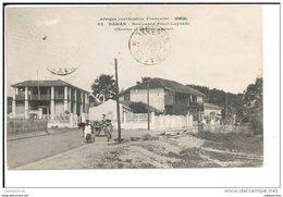 Dakar Senegal Boulevard Pinet Laprade Marine Et Commmissariat - Senegal