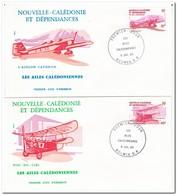 Nieuw Caledonië 1983, FDC, Airplanes - FDC