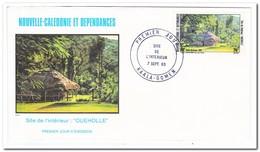 Nieuw Caledonië 1983, FDC, Landscapes - FDC