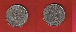 Cameroun  -  50 Francs 1960  -  Km # 13  --  état TTB  -- - Cameroun