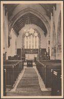 Holsworthy Church, Devon, C.1920s - Happithought Series Postcard - England