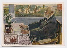 CARTE MAXIMUM CM Card USSR RUSSIA Medicine Physiologist PAVLOV Nobel Prize - 1923-1991 USSR