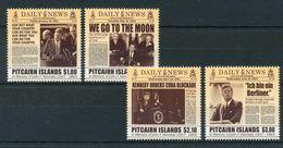 "Pitcairn - Mi.Nr. 890 / 893 - ""Kennedy"" ** / MNH (aus Dem Jahr 2013) - Sellos"