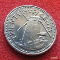 Barbados 25 Cents 1973 KM# 13 Barbade Barbades - Barbados