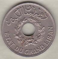 ETAT DU GRAND LIBAN. 1 PIASTRE 1936 - Liban