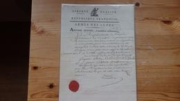 Document De Requisition De L'armée Des Alpes 1793 - Documents Historiques