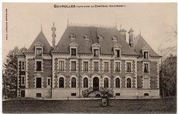 Gévrolles : Le Château Côté Ouest (Photo Lassalas) - France