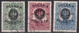Brk_ Polen - Mi.Nr. 17 - 19 - Gestempelt Used - Gebraucht